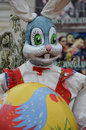Easter bunny with the egg Royalty Free Stock Photo