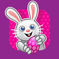Easter bunny Illustration Stock Images