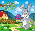 Easter bunny theme image 4 Stock Photo
