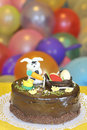 Easter cake decorated Stock Photos