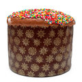 Easter cake (kulich) Royalty Free Stock Images