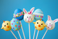 Stock Photos Easter cake pops