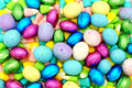 Easter candy background Stock Photo
