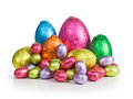Easter candy eggs Stock Photography