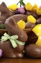 Easter Chocolate Hamper Of Egg...