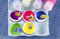 Easter Colorful Decoration And...