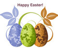 Easter Concept Illustration Stock Photography