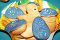 Easter cooki typical handmade biscuits for celebrations Stock Image