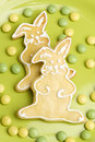 Easter cookies decorated in studio Stock Photo