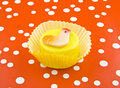 Easter cup cake Stock Photography