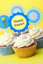 Easter cupcakes Royalty Free Stock Photography