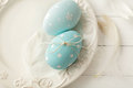 Easter decoration colorful eggs Stock Images