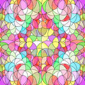 Easter decorations pattern of colored eggs Stock Photography