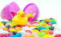 Easter Duck Royalty Free Stock Photo