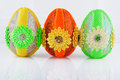 Easter egg as decoration your home Stock Images