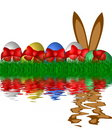 Easter Egg Background Royalty Free Stock Photography