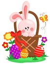 Easter egg bunny and many more stuff Stock Image