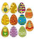 Easter Egg Collection Royalty Free Stock Photography