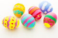 Easter egg colorful close up Stock Photography