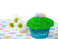 Easter Egg Cupcake Royalty Free Stock Photography