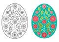 Easter egg design