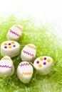 Easter egg petit cake Royalty Free Stock Photos