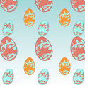 Easter Egg Seamless patter Royalty Free Stock Photo
