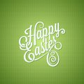 Easter egg vintage lettering design background eps Stock Photo