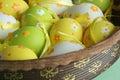 Easter eggs Στοκ φωτογραφία με δικαίωμα ελεύθερης χρήσης
