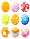 Easter eggs Royaltyfria Foton