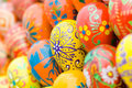 Easter eggs background. Royalty Free Stock Photos