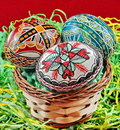 Easter Eggs In Romania