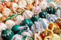 Easter eggs colorful for sale Stock Photography