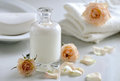 Body or face lotion Royalty Free Stock Photo