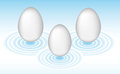 Easter eggs for a holiday Royalty Free Stock Images
