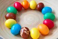 Easter eggs ii lot of colorful Royalty Free Stock Photos