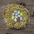 Pasqua uova nido
