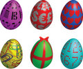 Easter eggs symbol Royalty Free Stock Image
