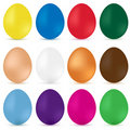 Easter eggs. Vector Royalty Free Stock Image