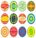 Easter eggs, vector Royalty Free Stock Image