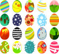 Easter eggs03 Royalty Free Stock Photo