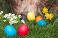 Easter egs Stock Image