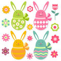 Easter elements set Stock Images