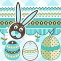 Easter elementscrapbook Royaltyfri Bild