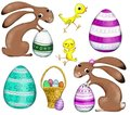 Easter figures Royalty Free Stock Images