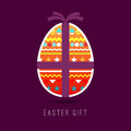 Easter Gift Royalty Free Stock Photography