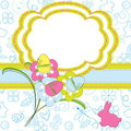 Easter greeting card Royalty Free Stock Photography