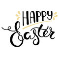 Easter greeting card - Happy Easter.
