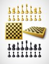 Chess. Vector illustration Royalty Free Stock Photo