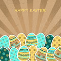 Easter greetings card Royalty Free Stock Photos